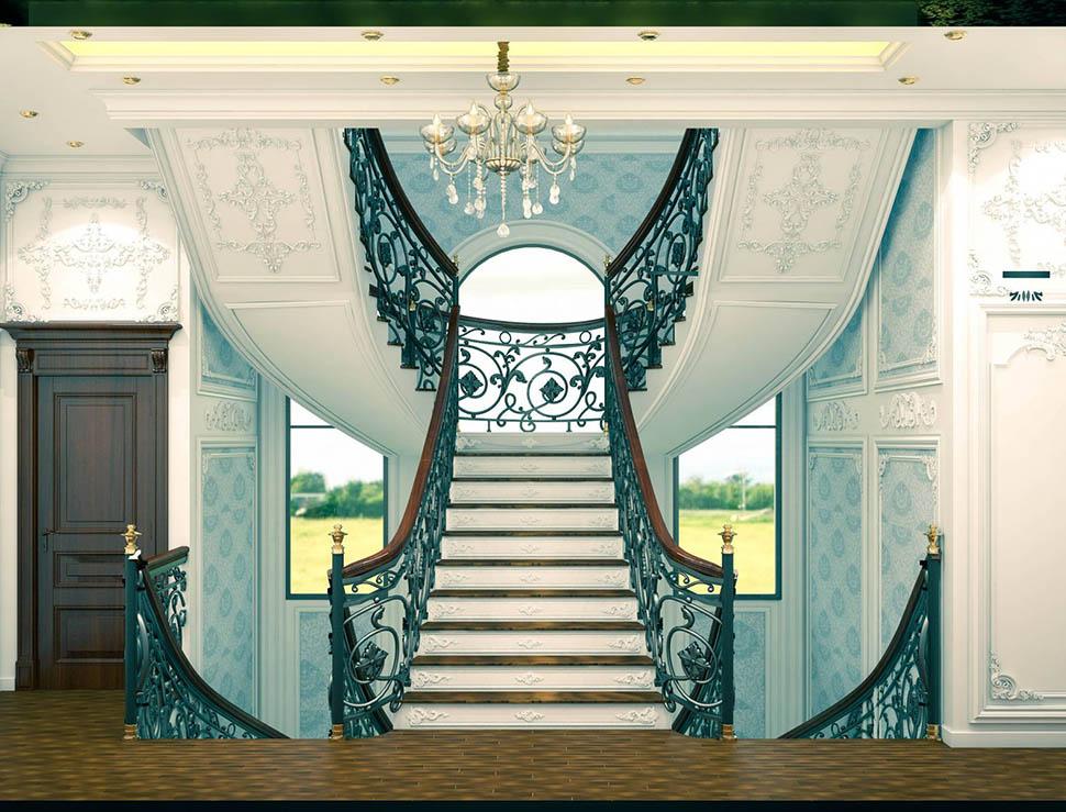 Thiết kế cầu thang tại gia và những điều cần lưu ý